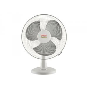 Anchor Goldline Grey 1330rpm Table Fan, Sweep: 400 mm