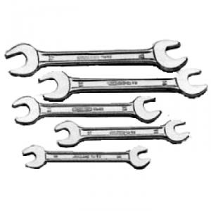 Jhalani Double Ended Open Jaw Spanner Set, 12/121 M