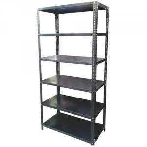Nikhil Stainless Steel Slotted Angle Warehouse Rack