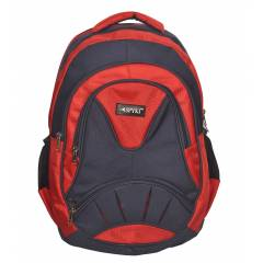 SPYKI PJ22 Red Smart and Specious Polyester Laptop Backpack