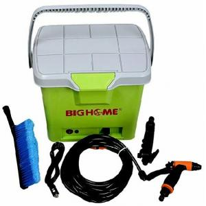 Big Home Portable Car Washer with Free Brush