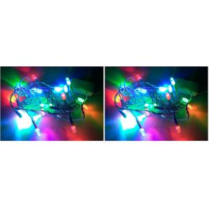 MTC Red, Green and Blue Color Changing LED Rice Light (Pack of 2)