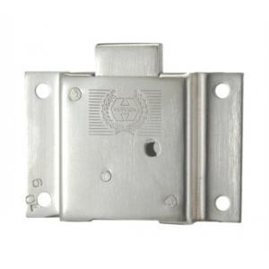 Harrison 100mm Brass Cupboard Lock, 4L 0109