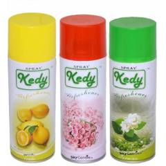 Kedy Jasmine, Lemon & Rose Water Spray Air Freshener Set, SP001