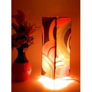 Tucasa Floor Cum Table Printed Lamp, LG-636, Weight: 400 g