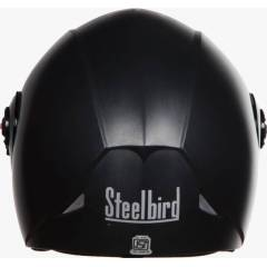 Steelbird Award RK Black Flip up Helmet, Size (Large, 600 mm)