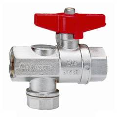 CIM 620 Ball Valve with Strainer, Size: 20 mm