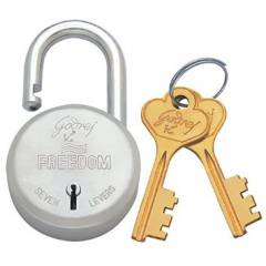Godrej Freedom 7 Levers Padlock (2 Keys), 3287