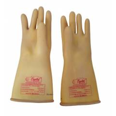 KT Yellow Shock Proof Safety Gloves