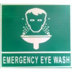 ITE 1x1 ft Retro Reflective Emergency Eye Wash Sign Board