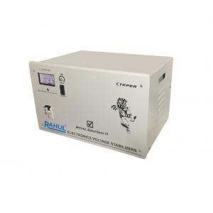 Rahul Base-10 c 10kVA/40A/140-280V Copper 3 Step Mainline Use Up to 10kVA Load Automatic Copper Voltage Stabilizer