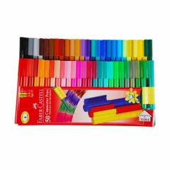 Faber-Castell Connector Pen Set, 153050 (Pack of 50)