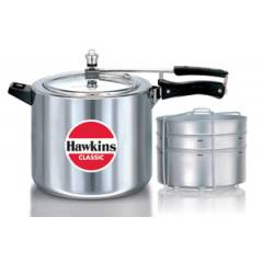 Hawkins Classic 10 Litre Pressure Cooker with Separators, CL11