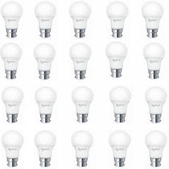 Rashmi Magnatech 5W B-22 White LED Bulbs (Pack of 20)