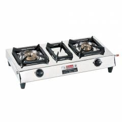 Padmini CS-202 2 Burner Stainless Steel Gas Stove