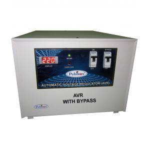 Pulstron PTI-8095B 8kVA Single Phase Stabilizer with Bypass for Mainline