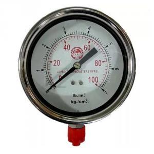 Bellstone 0-60psi Stainless Steel Black Pressure Gauge, 877789