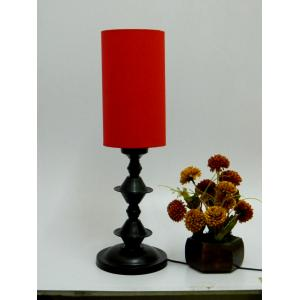 Tucasa Table Lamp with Tube Shade, LG-40, Weight: 600 g