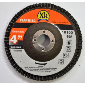 Xtra-Kut 100mm 80 Grit Flap Disc (Pack of 20)