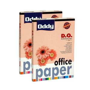 Oddy A4 Letter Head Paper For Laser Jet And Inkjet, DO100A4100 (Pack of 3)
