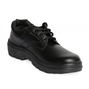 Dyke D-1 Steel Toe Black Safety Shoes, Size: 7 (Pack of 24)
