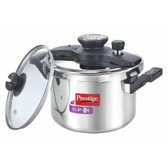 Prestige Clip on 5 Litre Stainless Steel Pressure Cooker, 25645