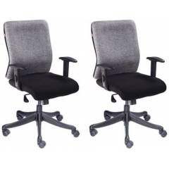 Divano Modular 002 Medium Back Executive Office Chair (Pack of 2)