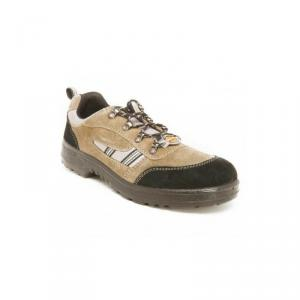 Liberty 7198-254 Warrior Sporty Brown Safety Shoes, Size: 06