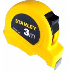 Stanley 3m Short Tape Rules, STHT36125-812, Width: 13mm (Pack of 10)