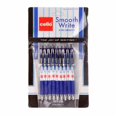 Cello Smooth Write Blue Ball Pen (Pack of 10)