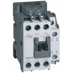 Legrand 3 Pole Contactors CTX³ 22 Integrated Auxiliary Contacts 1 NO + 1 NC, 4160 88