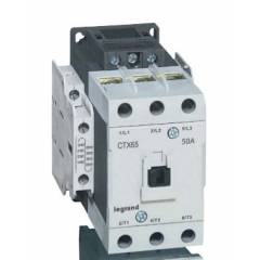 Legrand 3 Pole Contactors CTX³ 65 Cage Terminal Integrated Auxiliary Contacts 2 NO + 2 NC, 4161 74