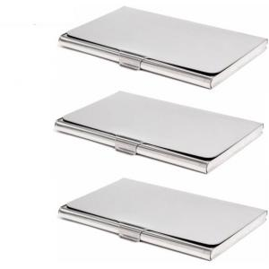 Stealodeal Stainless Steel Card Holder (Pack of 3)