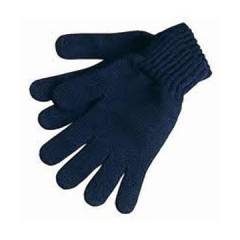 SRTL 80 g Blue Cotton Knitted Hand Gloves (Pack of 100)
