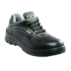 JCB Earthmover Black Safety Shoes, Size: 8