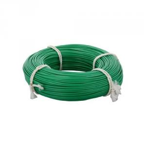 Jupiter 90m 1 Sq mm PVC Insulated Green Single Core Unsheathed Electrical Wire