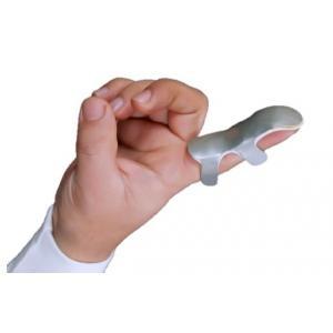 Hiakan HI 502 Classic Grey Frog Finger Splint, Size: M