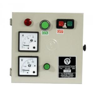 SJ MHD1 9-14A Single Phase Motor Control Panel, P56