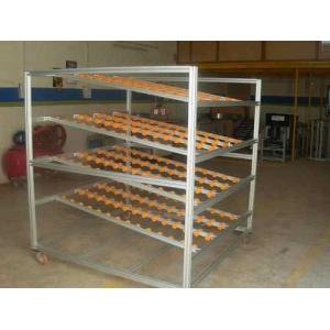 Accuweygh 10m Fifo Flow Racking System