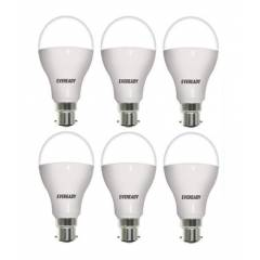 Eveready 12W B22 6500K LED Bulb, (Pack of 6)