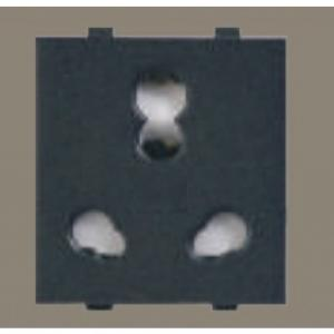 Anchor Roma 10 & 25 A Twin Socket(Pack Of 10), 34374MB