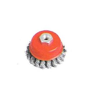GE Tech Twisted Cup Wire Brush, (Size: 3 Inch)