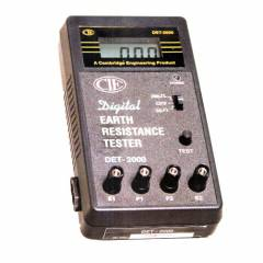 CIE DET-2000 Dual Digital Earth Resistance Tester, 0-20-2000 Ohms