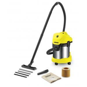 Karcher WD 3 Premium Multi Purpose Wet & Dry Vacuum Cleaner, Suction Hose: 35 mm