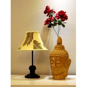 Tucasa Table Lamp with Poly Silk Shade, LG-350, Weight: 550 g