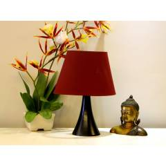 Tucasa Table Lamp with Oval Shade, LG-297, Weight: 300 g