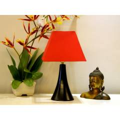 Tucasa Table Lamp with Square Shade, LG-307, Weight: 300 g