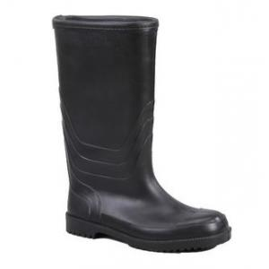 Mangla Tiger Steel Toe Black Gumboots, Size: 7
