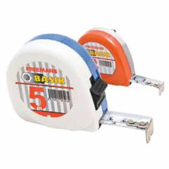 Freemans Steel Basik Tape Rules with Belt Clip & Lock, Length: 5 m, Width: 19 mm