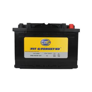 Hella FF60 12V 74Ah Car Battery, DIN74